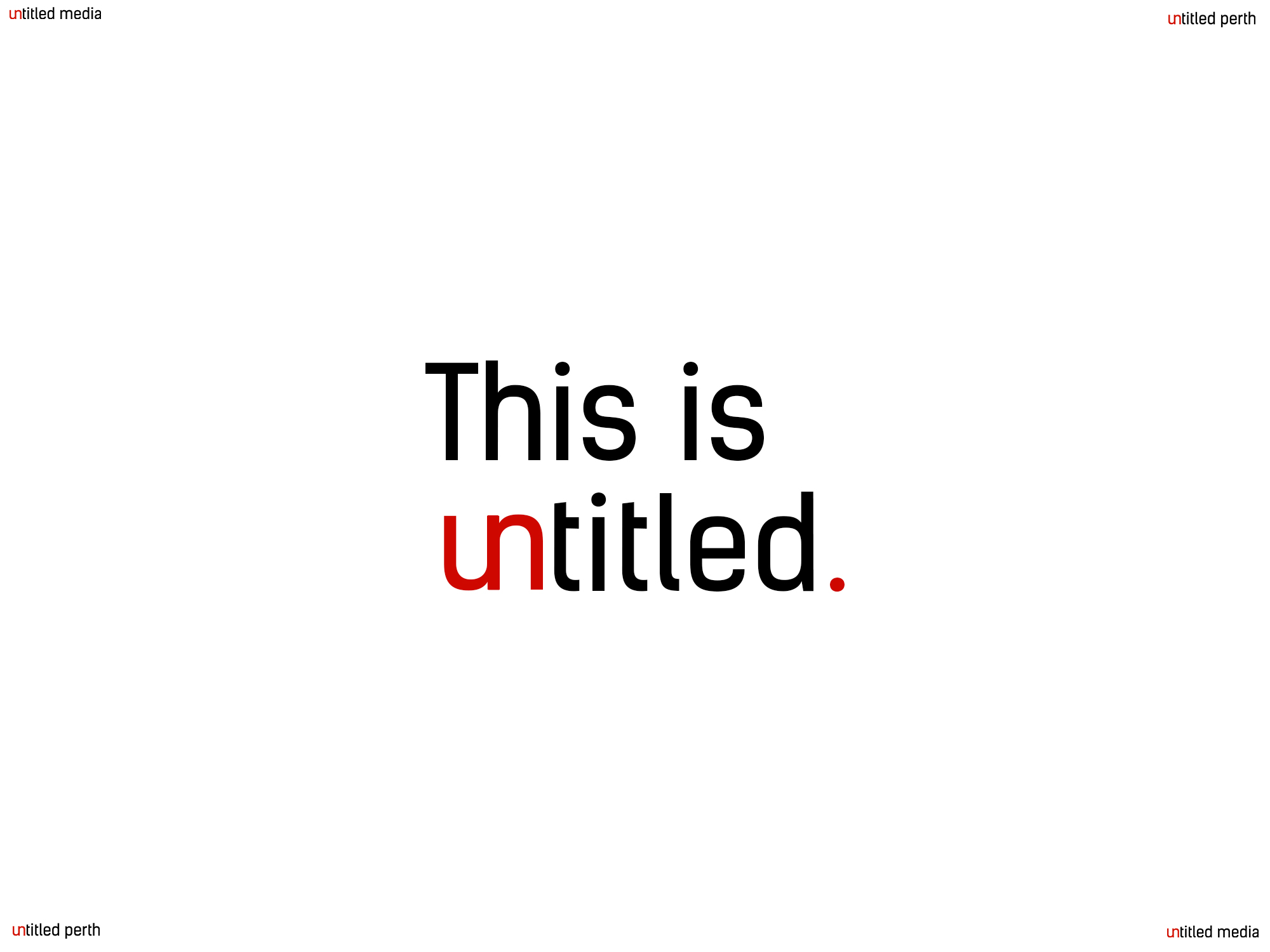 This is Untitled